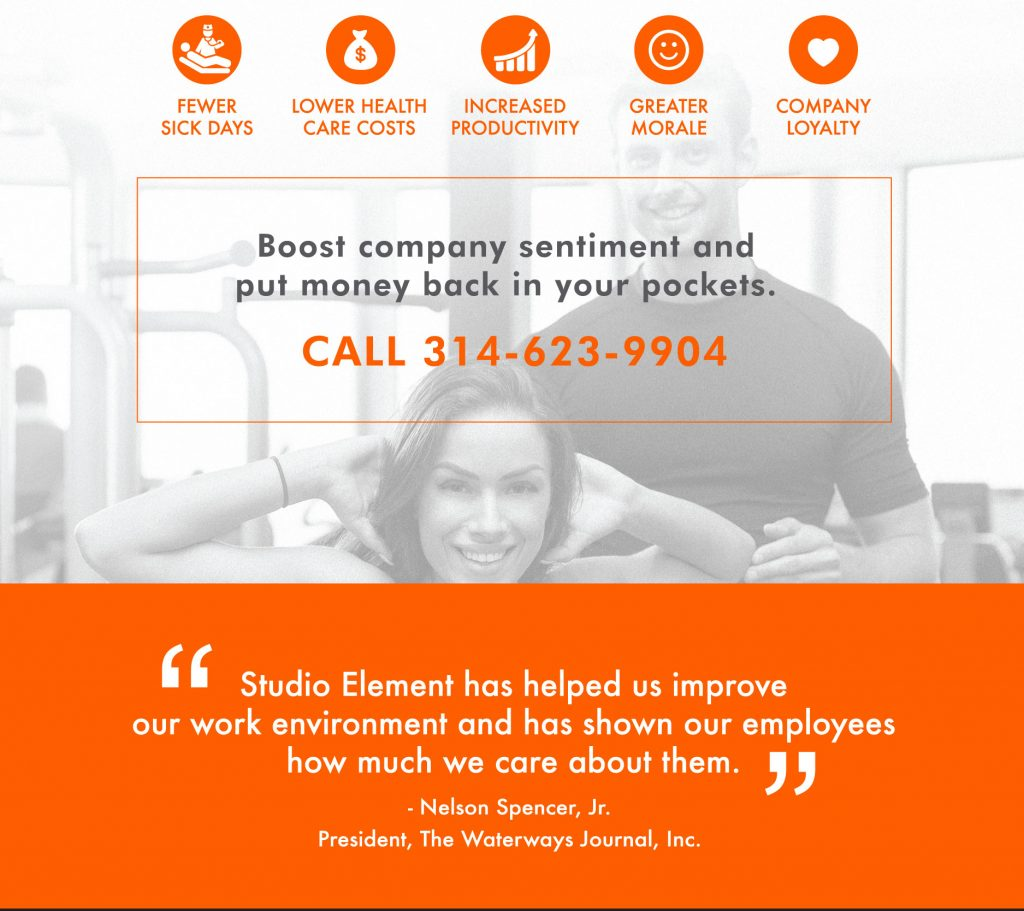 Studio Element Personal Training Corporate Wellness Program